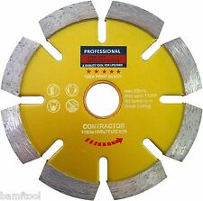 "4.5"" Tuck Point Diamond Blade .280"" Thick 4 Concrete Brick Block Joint Mortar"