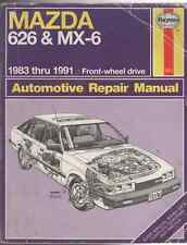 Mazda 626 and MX-6 Automotive Repair Manual by Larry Warren (1986, Paperback)