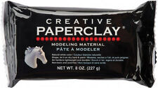 Creative PaperClay 8oz Natural White Modeling Clay - Paintable Air Dry Material