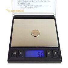 CD Digital Scale Jewelry Case 1000g x 0.1g Weigh Tare Calibration Precision USA