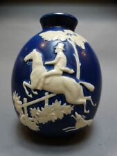 Weller Pottery Chase Equestrian Bulbous Vase