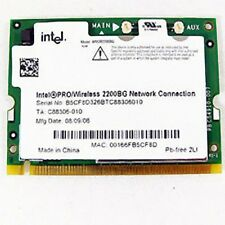 Intel PRO/Wireless 2200BG per DELL LATITUDE D610 scheda WiFi card board