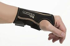 2pcs Fitness Copper Fit Wrist Relief Compression Sports Support Brace Glove
