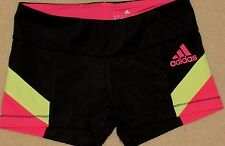ADIDAS Clima-Lite multi color Spandex Running Fitness SHORTS Women's Small