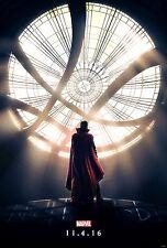 Doctor Strange Movie Poster (24x36) - Marvel, Benedict Cumberbatch, Mikkelsen v2