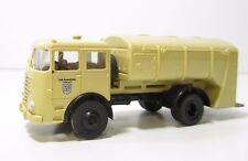 Spur HO Brekina 79100 Büssing LKW Müllwagen beige (3624)