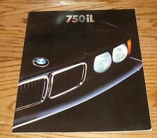 Original 1990 BMW 750iL Deluxe Sales Brochure 90