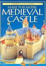 NEW - Make This Model Medieval Castle (Usborne Cut-Out Models)
