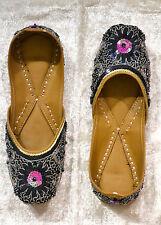 Indische Schuhe Damen Ballerinas Bollywood Orient Indien Gr. 37- ECHT LEDER