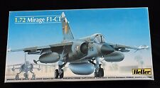 Plastic Model Airplane Kit   Mirage F1-CT  1/72 Scale  Heller