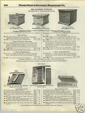 1924 PAPER AD Higginsville Dovetailed Bee Keepers' Hive Corn Sheller New Queen +