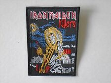 IRON MAIDEN KILLERS EMBROIDERED PATCH
