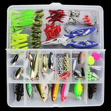 101pcs set fishing Lures Bass CrankBait Spoon Crank Bait for all water layer R78