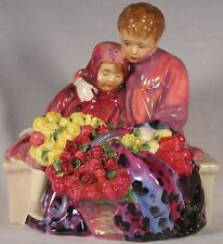 "Vintage Royal Doulton ""Flower Sellers Children"" Figure~Mint~HN1342~Amazing Gift"