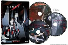 Knights Of Sidonia . The Complete Collection . Anime . 3 DVD . NEU . OVP
