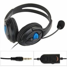 Wired Gaming Headset Headphones with Microphone for Sony PS4 PlayStation 4 PC AC