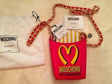 Moschino French Fries Leather Bag McDonalds Fast Food JEREMY SCOTT LMT SOLD OUT
