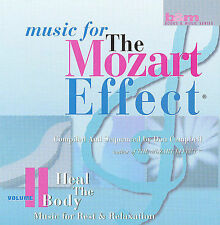 Music for The Mozart Effect (Cassette) Heal the Body Vol. 2 Rest/ Relaxation NIP