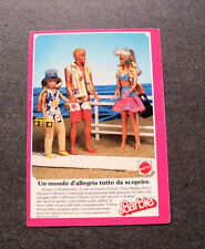 I427-Advertising Pubblicità- 1988 - MATTEL , BARBIE KEN E SKIPPER CALIFORNIA