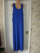 bn/wt ladies racer back maxi dress size 22 by south