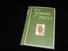 Vintage Book, THE STANDARD HOYLE, How To Play Games Of Chance, Poker, Blackjack