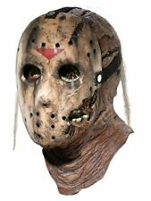 NEW Friday The 13th New Blood Jason Voorhees Deluxe Overhead Mask By Rubie's