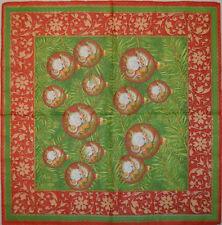 Papier serviettes de table pour craft vintage noël déco decoupis tea parties 402