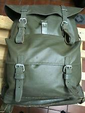 Swiss Army Military Waterproof Backpack Rucksack 70s Vintage