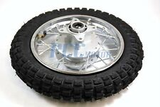 "Honda CRF XR 50 CRF50 XR50 Rear 10"" x 2.50 Wheel Tire Rim Drum Brake H WM02S"