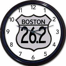 Boston Marathon 26.2 Clock run runner long distance foot race sport new 10""