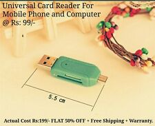 Universal Card Reader Mobile phone PC card reader Micro USB OTG Card Reader OTG