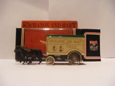 LLEDO LP11003B HORSE DRAWN REMOVAL VAN – EXCHANGE AND MART - PROMO BOX