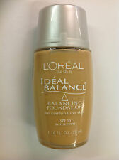 L'Oreal Ideal Balance Balancing Foundation GOLDEN #316 NEW.