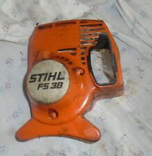 Stihl FS 38 gas powered grass trimmer pull starter housig