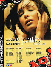 PUBLICITE ADVERTISING 015  2004  NRJ radio JENIFER en concert