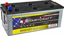 Solarbatterie Antrieb und Beleuchtung Batterie / Solar 12V 200Ah ENY SO200