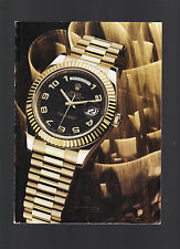 Rolex (Catalogue, Oyster Perpetual design etc, ca 2011) softcover, color