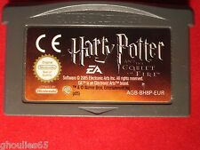 HARRY POTTER AND THE GOBLET OF FIRE GAME BOY ADVANCE COUPE DE FEU GBA