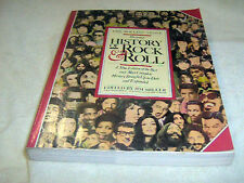 """THE ROLLING STONE ILLUSTRATED HISTORY OF ROCK & ROLL"" by Jim Miller-1980   USED"