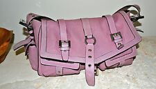 Pre-Owned LUELLA Anouk Medium Lilac Saddle Bag Retail $895.00