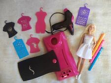 airbrush barbie doll and accessories set