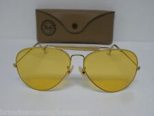 New Vintage B&L Ray Ban 1980's Outdoorsman II Arista Ambermatic 62mm L0093 NOS