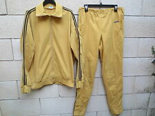 VINTAGE Survêtement ADIDAS 70'S VENTEX made in France tracksuit oldschool XL