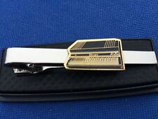 KEYBOARD PIANO ORGAN GUITAR MUSIC TIE CLIP CLASP PIN NECKTIE TIES EMBLEM LOGO