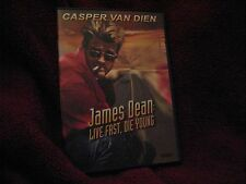 Action Movie James Dean: Live Fast, Die Young (DVD, 2006) Casper Van Dien MINT