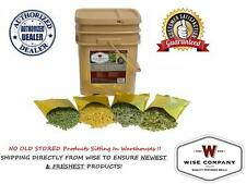 Wise Foods ~ 120 serving Long-Term Freeze-Dried VEGETABLES ~ Camping, Bug Out,