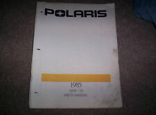 Vintage Snowmobile Polaris 1985 Star And SS Parts Manual Not A Copy