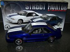 GMP 1:18 1991 FORD MUSTANG (STREET FIGHTER) BLUE