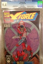 X FORCE #2 1st appearance of KANE! 2nd DEADPOOL! CGC 9.4! WP! MOVIE!