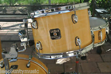 """ADD this GRETSCH 12"""" CATALINA CLUB NATURAL GLOSS RACK TOM to YOUR DRUM SET! J333"""